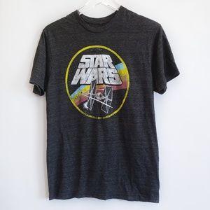 Star Wars graphic t-shirt grey size medium